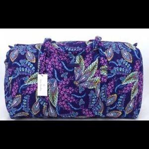 Purple duffel bag 🤩